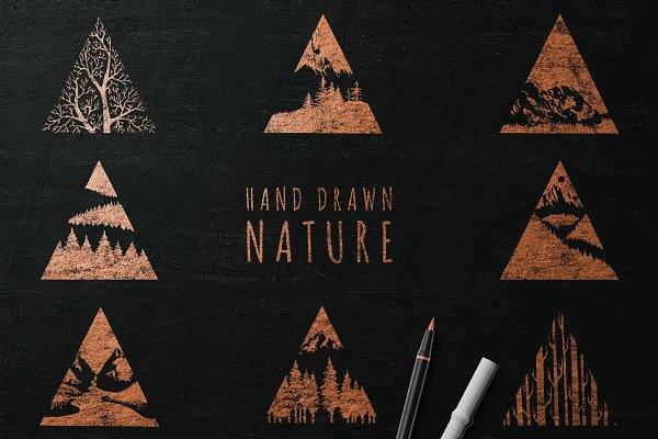 Hand Drawn Nature