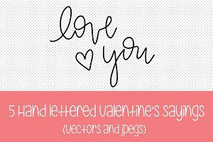 Valentine's Vectors