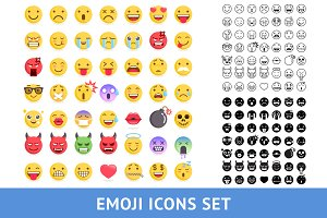 Emoji Icons Set