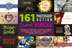Mega Sweet Bundle 160 Actions