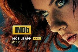 IMDb - iOS App Design