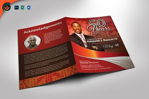 Crimson Pastor's Anniversary Program