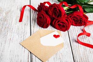 Valentines concept