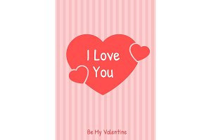 I love you greeting card