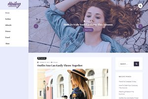 Hailey Lite - WordPress Blog Theme