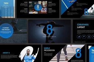 Eight Creative Powerpoint