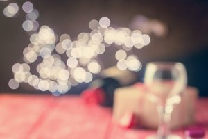 valentine background of wine and candle
