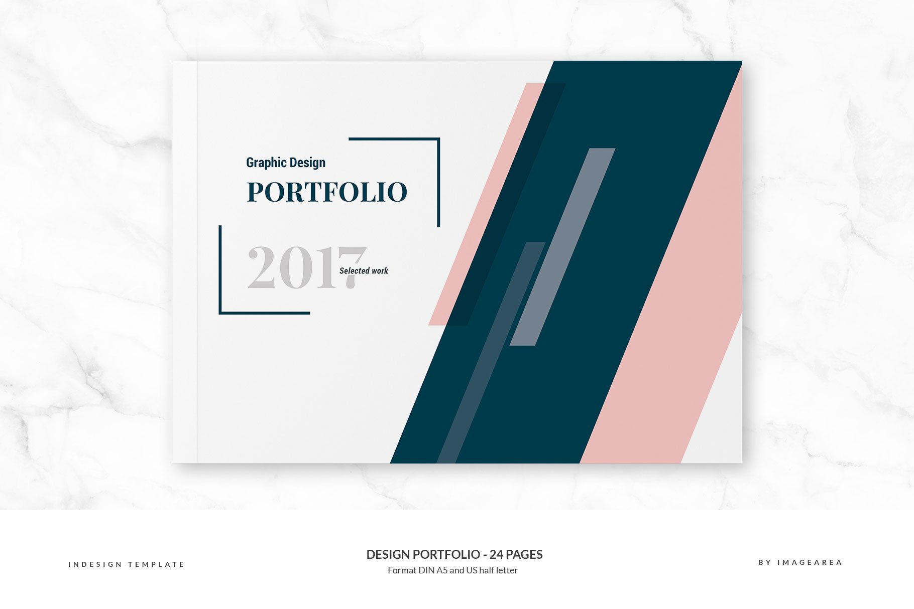 Design Portfolio Pages Brochure Templates Creative Market Pro - Portfolio brochure template