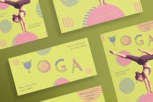 Flyers | Yoga