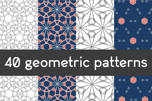 40 geometric patterns in Patterns