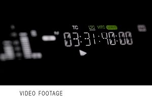 Running timecode on the pro HD VCR