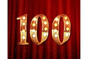 100 years golden