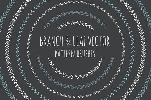 Branch&Leaf Illustartor Brushes