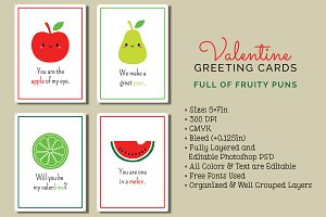 4 Valentine's Day Cards