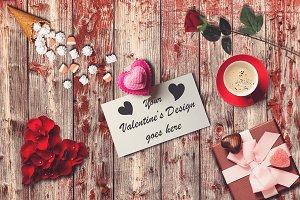 Valentine Card Mock-up #10