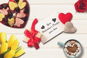 Valentine Card Mock-up #6