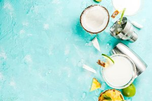 Coconut Pineapple Margarita