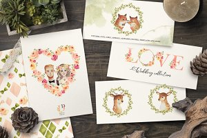 LOVE wedding  floral collection