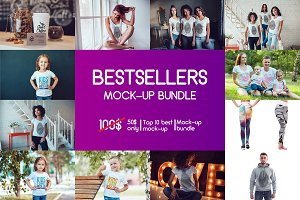 Bestsellers Mock-Up Bundle