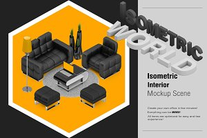 Isometric Interior Mock-up
