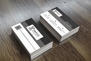 Anyar Business Card Template