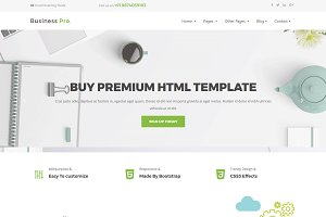 BusinessPro - Premium Html Template
