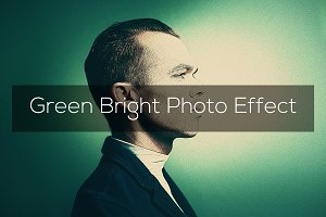 Green Bright Photo Effect