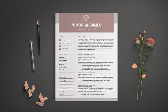 Resume CV Victoria