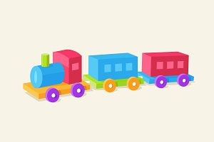 Choo Choo Train Children Toy