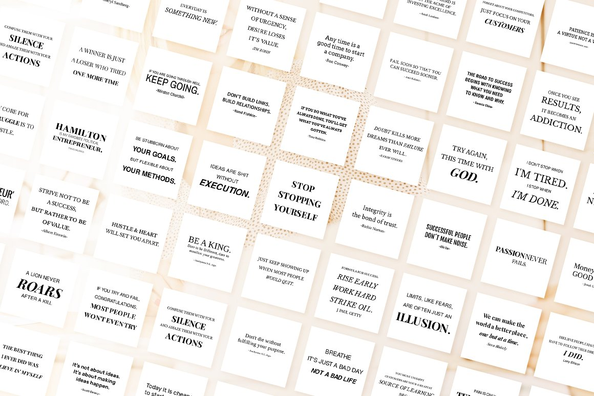 Animated Instant Entrepreneur Quotes