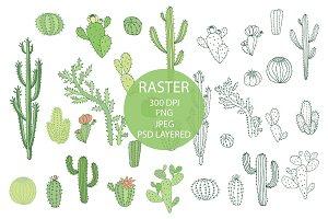 Cacti Raster
