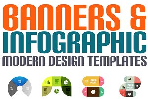 16 paper infographic designs set 25