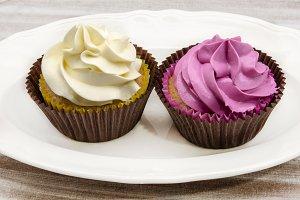 Cupcakes decorated.