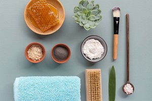 Brushes and spa equipment