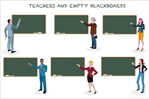 Teachers and Empty Blackboards