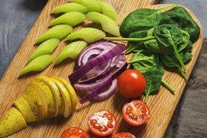 Vegetarian vegetables