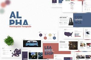 Alpha | Powerpoint Template