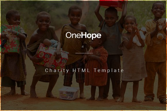 OneHope Charity HTML Template