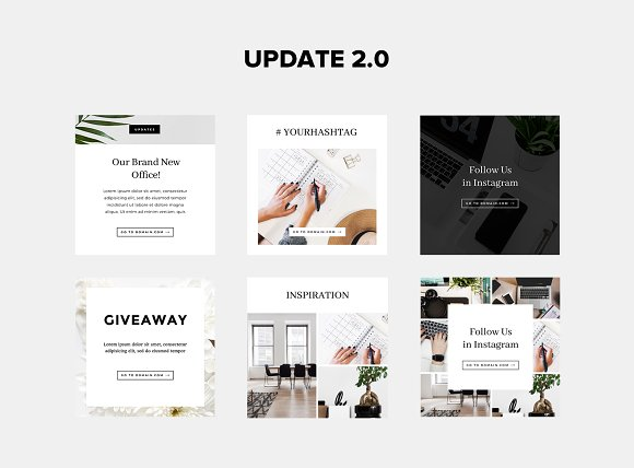 Animated Instagram Stories & Posts in Instagram Templates - product preview 3