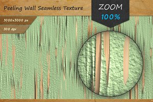 Peeling Wall Seamless HD Texture