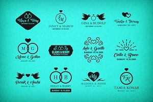 Wedding Logo & Badge
