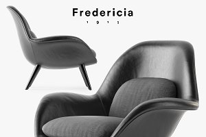 Fredericia Swoon armchair
