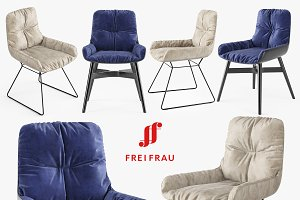 FreiFrau Leya armchair low