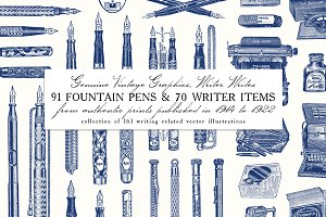 Writer Writes: 91 Fountain Pens & ..
