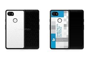 Google Pixel 2 XL 2d RubberFlex Case