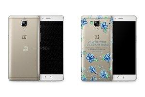 OnePlus 3-3T UV TPU Clear Case