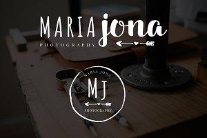 Maria Jona Premade Logo