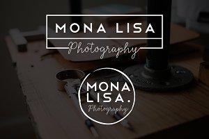 Mona Lisa Premade Logo