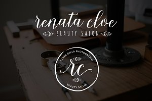 Renata Cloe Premade Logo