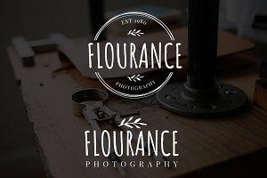 Flourance Premade Logo